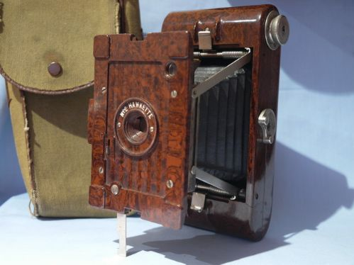 Kodak No.2 Hawkette Vintage Camera Mottled Brown Art Deco Bakelite £49.99